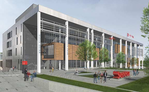 Seneca College Of Applied Arts And Technology Centre For Innovation Technology And Entrepreneurship Takes Shape