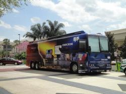 'Classroom on Wheels' – The OMICRON Roadshow Bus