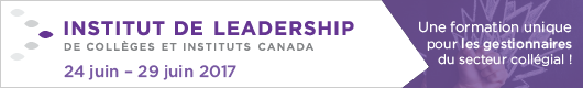 Institut de leadership de Collèges et instituts Canada | 24-29 juin