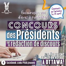 Concours des Présidents sur la rédaction de discours